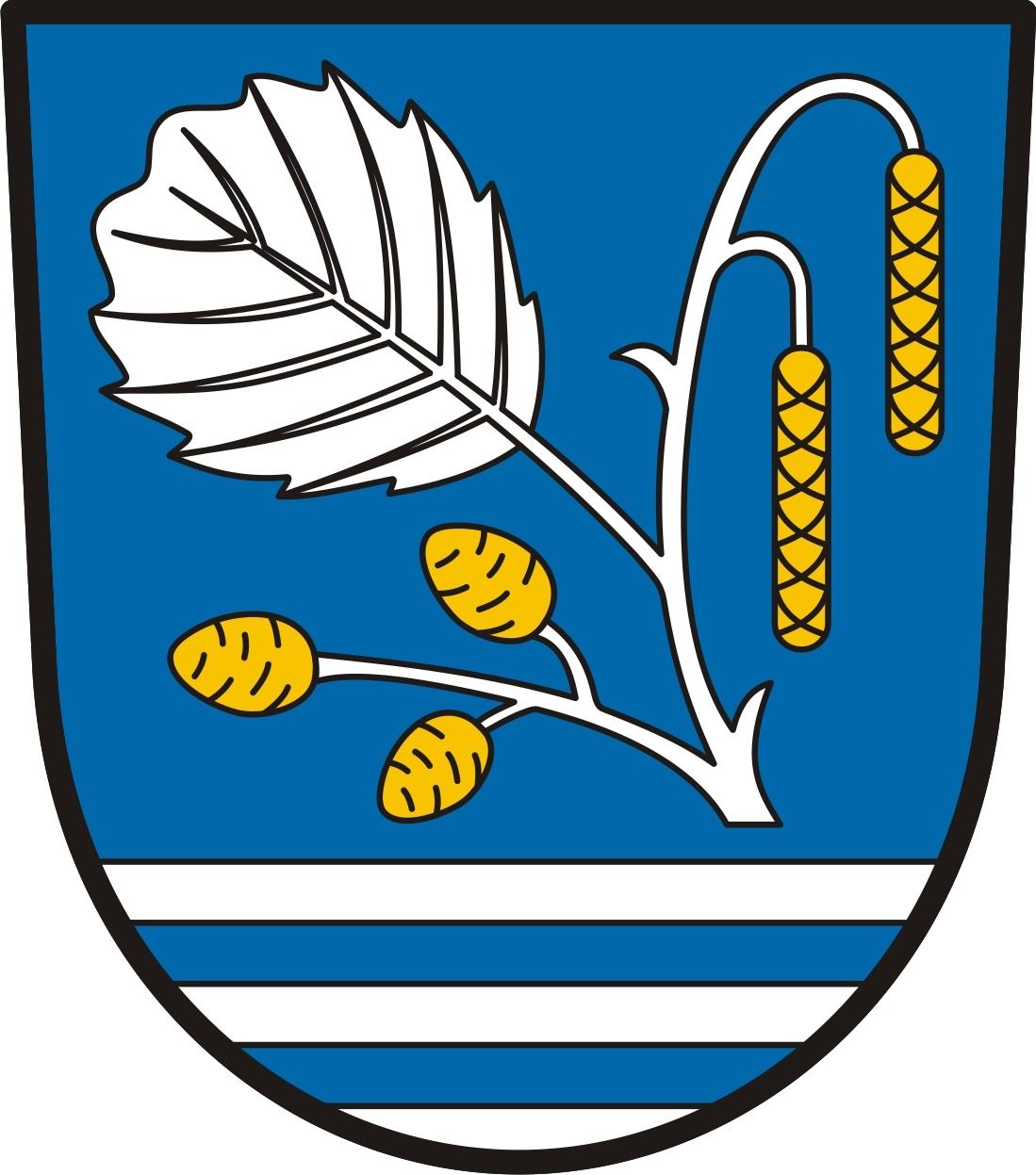 Znak obce Olešná