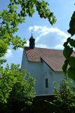 Kostelík Sv.Jana Křtitele na poušti ze XIV.století a hřbitov,leží na levém břehu Vltavy u Chřešťovic,přístup z Olešné původně přívozem přes Vltavu.