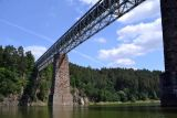 Železniční most Červená n.Vltavou